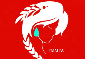 Search for 'Murdered and Missing Indigenous Women' and you will find the image on nativewomenswilderness.