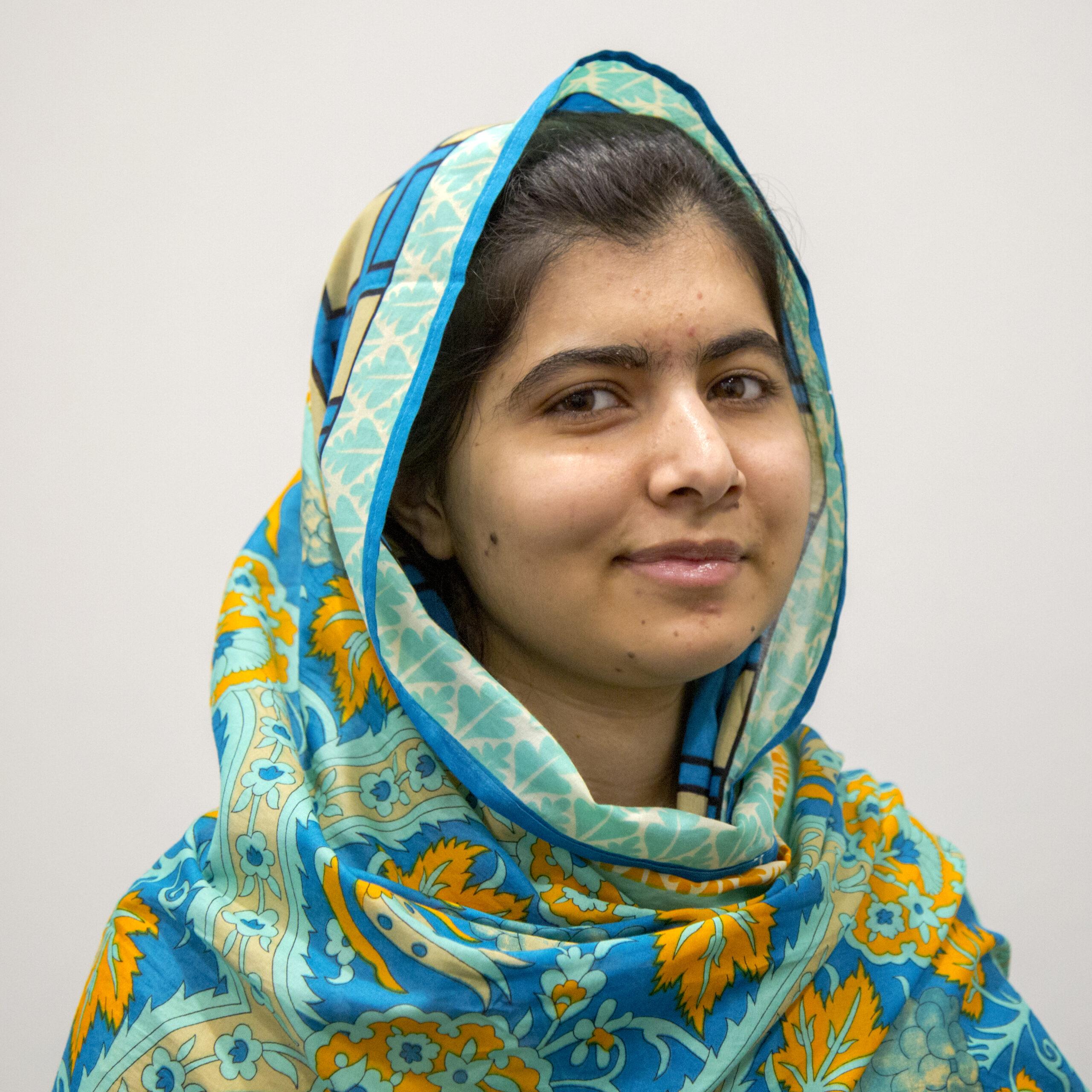 Malala Yousafzai in 2015
