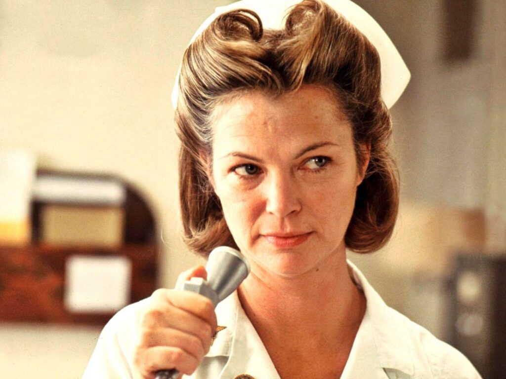 Nurse Ratched from One Flew Over the Cuckoo's Nest.